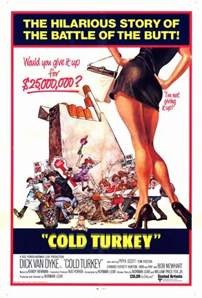 Framed Cold Turkey Film Print
