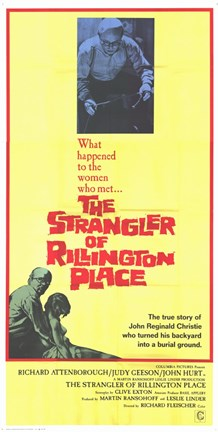 Framed 10 Rillington Place Print