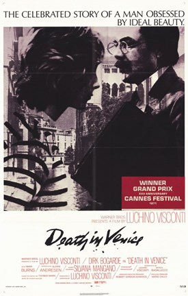 Framed Death In Venice Visconti Print