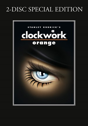 Framed Clockwork Orange Stanley Kubrick Print