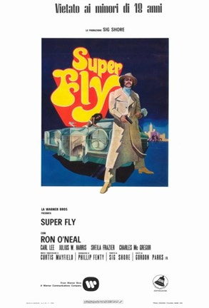 Framed Superfly - italian Print