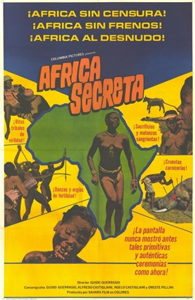 Framed Secret Africa Print