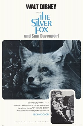 Framed Silver Fox and Sam Davenport Print