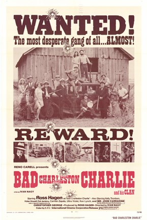 Framed Bad Charleston Charlie Print