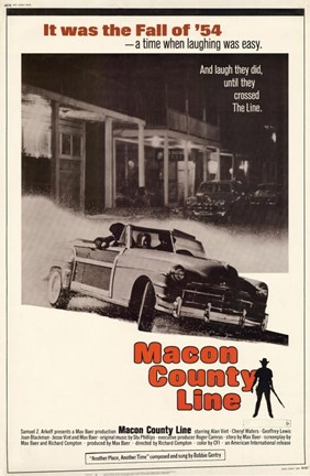 Framed Macon County Line Print