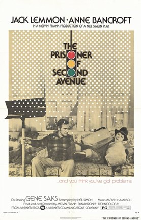 Framed Prisoner of Second Avenue Print