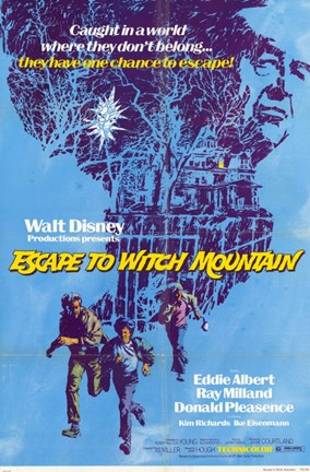 Framed Escape to Witch Mountain Print