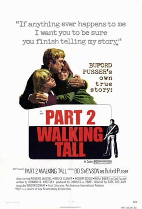 Framed Walking Tall: Part 2 Print