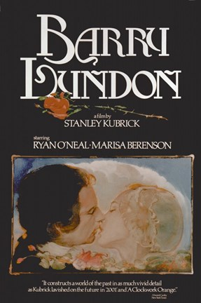 Framed Barry Lyndon - kissing Print