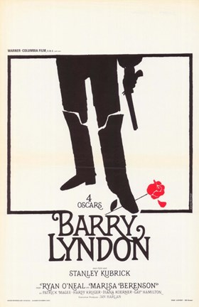 Framed Barry Lyndon Print