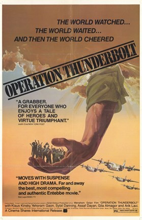 Framed Operation Thunderbolt Print