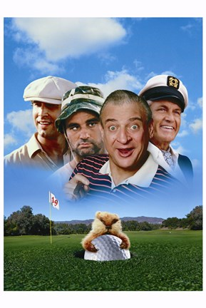 Framed Caddyshack - photo Print