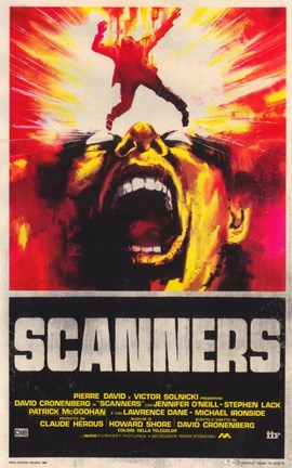 Framed Scanners - fire Print