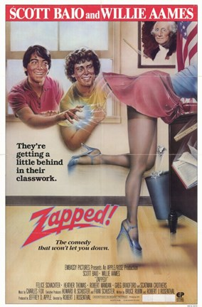 Framed Zapped Print