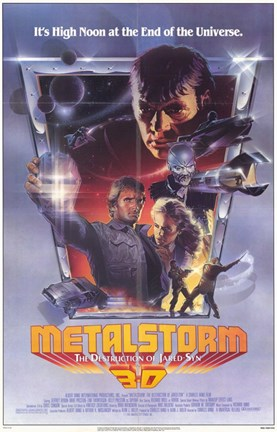 Framed Metalstorm Print