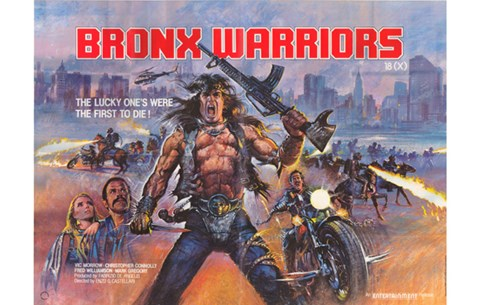Framed 1990: The Bronx Warriors Movie Print