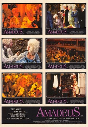 Framed Amadeus Collage Print