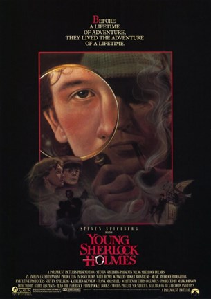 Framed Young Sherlock Holmes Print