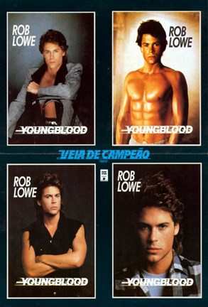 Framed Youngblood Rob Lowe Print