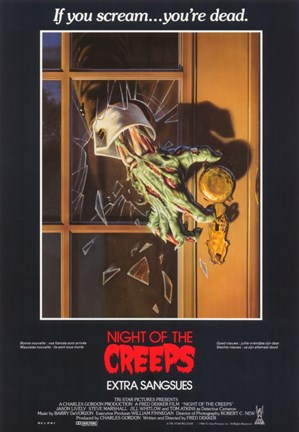 Framed Night of the Creeps Print