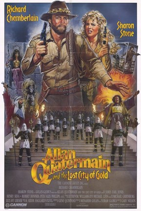 Framed Allan Quatermain and the Lost City of Gold Print