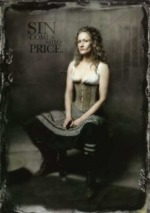 Framed Deadwood Paula Malcomson as Trixie Print