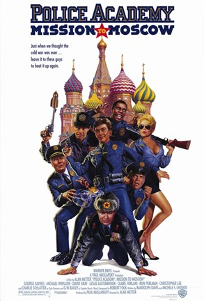 Framed Police Academy: Mission to Moscow Print