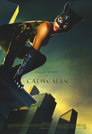 Framed Catwoman Print