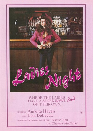 Framed Ladies Night Print