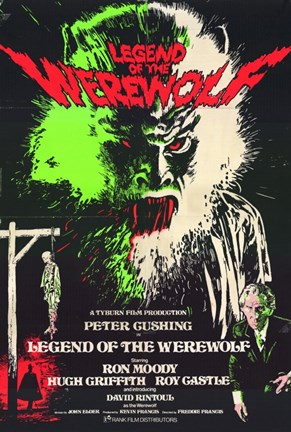 Framed Legend of the Werewolf Print