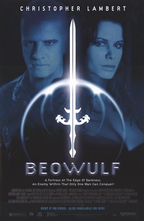 Framed Beowulf - A Fortress at the Edge of Darkness Print