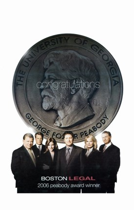 Framed Boston Legal Print