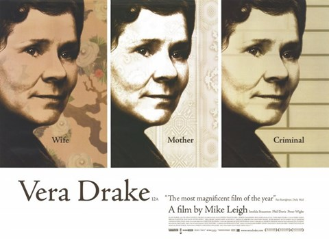 Framed Vera Drake By Mike Leigh Print