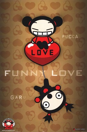 Framed Pucca Club - Animation Print
