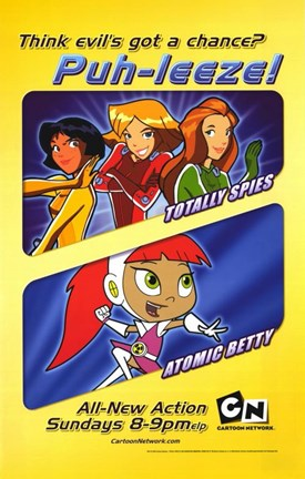 Framed Totally Spies Print