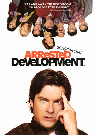 Framed Arrested Development Jason Bateman Print