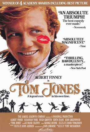 Framed Tom Jones Starring Albert Finney Print