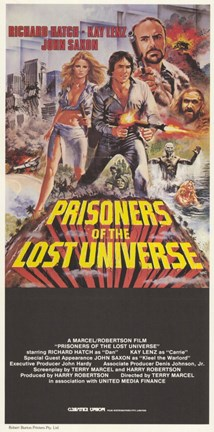 Framed Prisoners of the Lost Universe Print