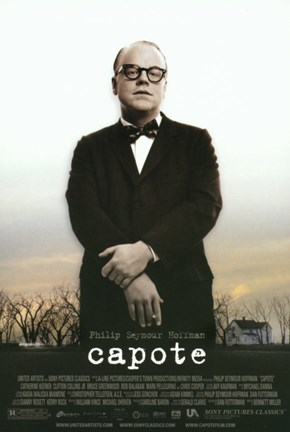 Framed Capote Philip Seymour Hoffman Print