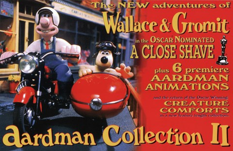 Framed Wallace & Gromit: The Best of Aardman Animation Poster Print
