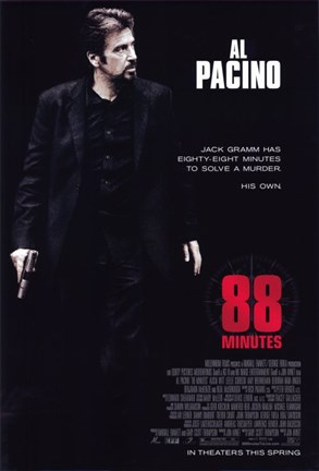 Framed 88 Minutes Al Pacino Print