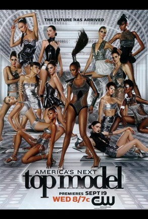 Framed America's Next Top Model - The Future has Arrived Print