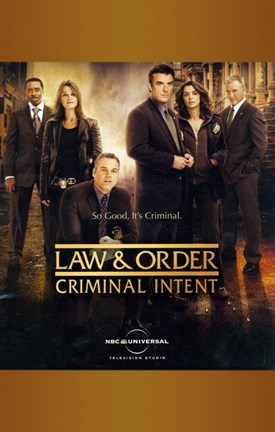 Framed Law & Order: Criminal Intent Print