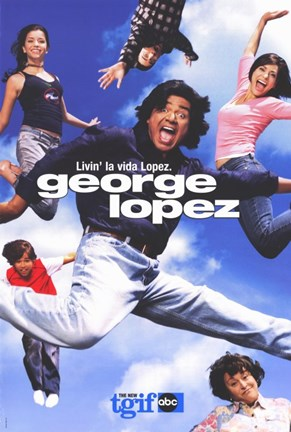 Framed George Lopez Print