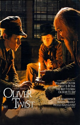 Framed Oliver Twist Print