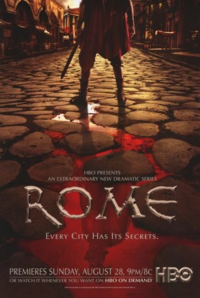 Framed Rome TV Show Print