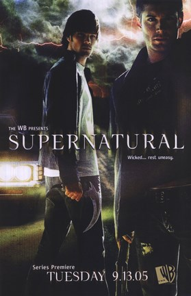 Framed Supernatural (TV) Dean & Sam Winchester Print
