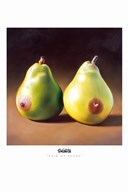 Pair of Pears  Fine Art Print