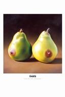 Pair of Pears  Fine Art Print