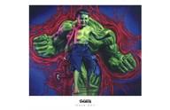 Hulk Boy  Fine Art Print
